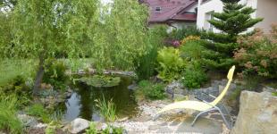 Zahradní jezírka: Jezírko Hlubočinka II