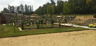 Zahradní jezírka: Koupací jezero Sulice02