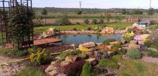 Zahradní jezírka: Koupací jezírko Čečelice 04