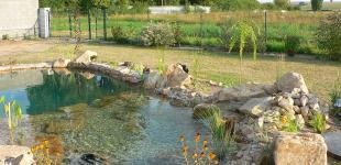 Zahradní jezírka: Koupací jezírko Čečelice02
