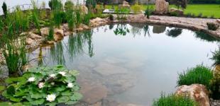 Zahradní jezírka: Stavba jezírka Železná - finální stav02