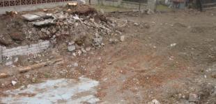 Zahradní jezírka: Stavba jezírka Železná - počáteční stav