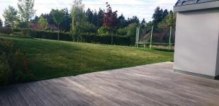 Zahradní jezírka: Stavba koupacího jezírka Klokočná - počáteční stav