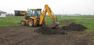 Zahradní jezírka: Stavba koupacího jezírka Předboj - počáteční stav