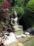 Zahradní jezírka: Zahradní jezírko se sochou Budhy