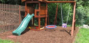 Zahradní jezírka: dětský hrad