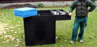 Zahradní jezírka: jezírková filtrace 1m3
