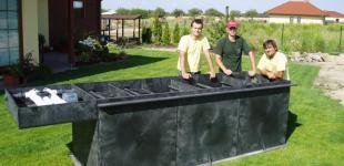 Zahradní jezírka: jezírková filtrace 3m3