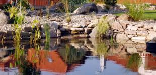 Zahradní jezírka: koupaci jezirko klasterec02