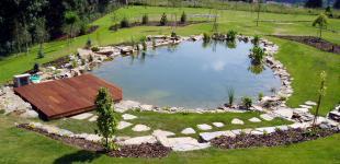 Zahradní jezírka: koupaci jezirko sazava02