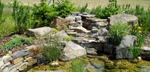 Zahradní jezírka: zahradni jezirko babice