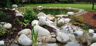 Zahradní jezírka: zahradni jezirko horomerice02