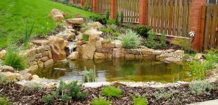 Zahradní jezírka: zahradni jezirko statenice02