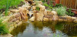 Zahradní jezírka: zahradni jezirko statenice