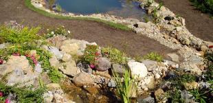 zahradni jezirko v prilepy