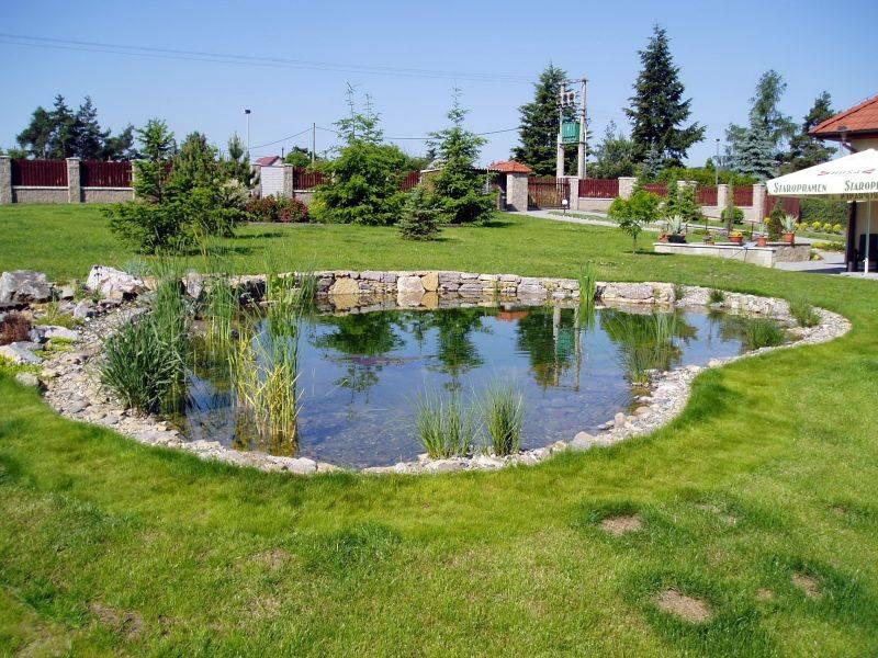 Zahradní jezírka:  zahradni jezirko lisnice